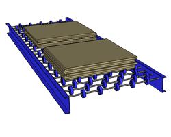 Skate Wheel Conveyor Sheets