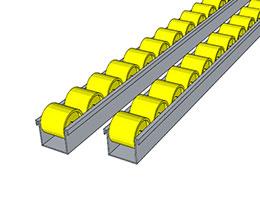 Yellow Micro Tracks